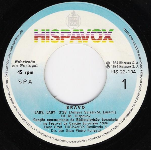 Bravo - Lady Lady (Maxi 1984)