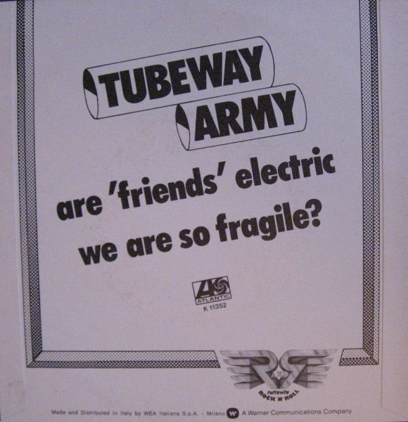Tubeway Army - Are Friends Electric (Maxi 1979)