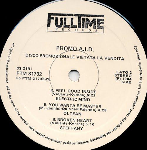 VA - Promo A.I.D. Vol 1 (Misssing Album 1984)