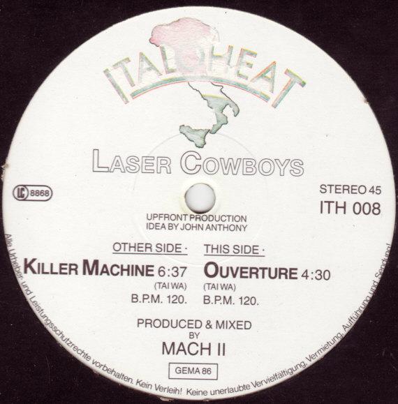 Laser Cowboys - Killer Machine (Maxi RARE 86')