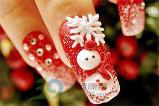 Stylish Christmas Nail art Designs