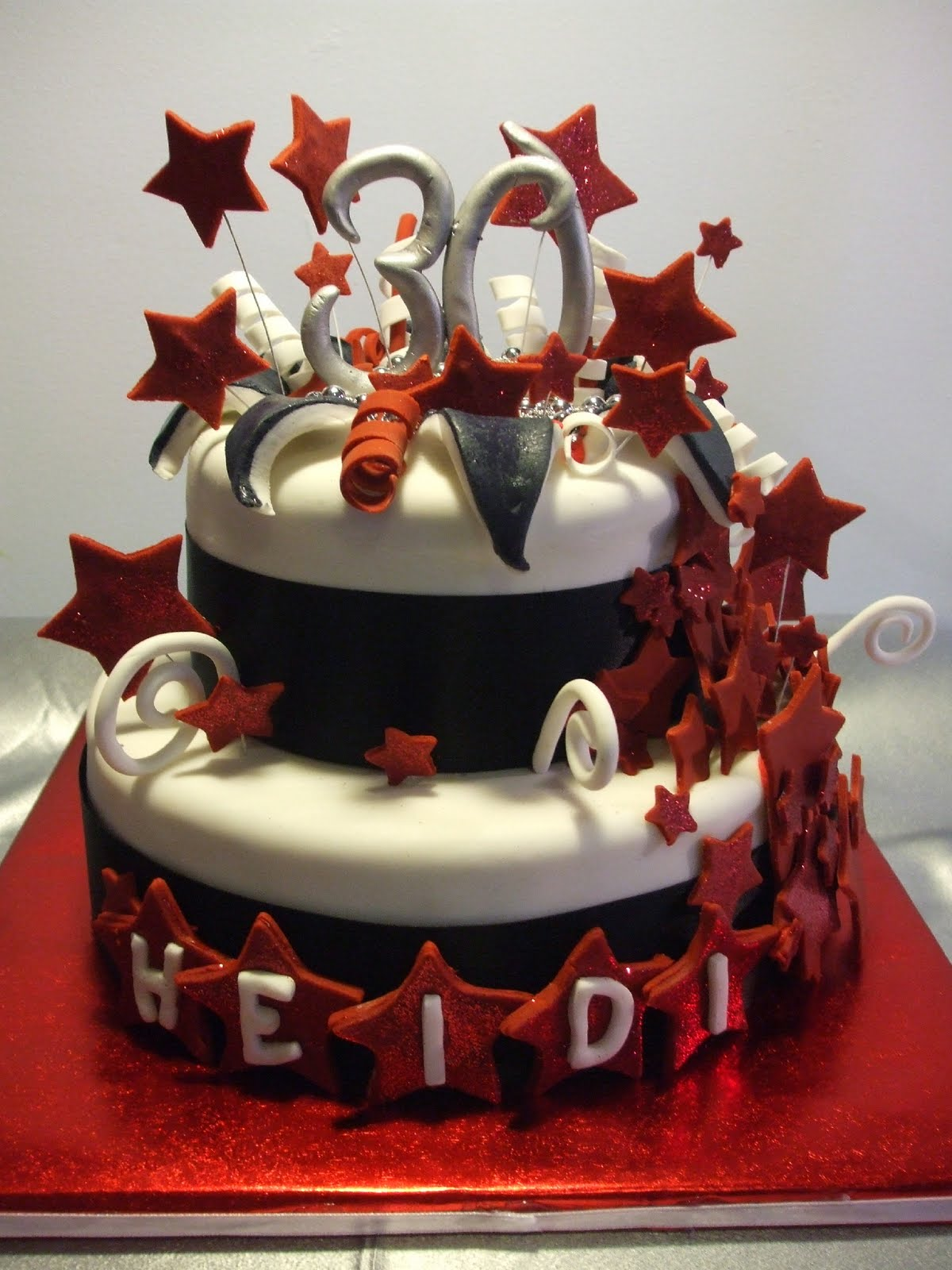 best party cakes Januari 2013