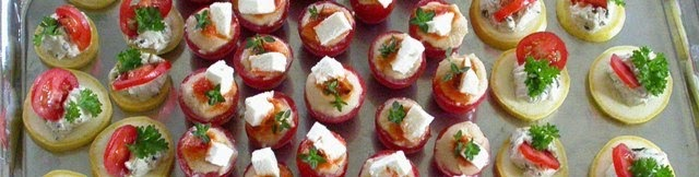 The opulent opossum some veggie appetizers for Funky canape trays
