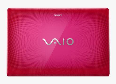 PINK Sony VAIO VPCEB2SFX Laptop Computer 2.26GHz Core i3 3GB 320G 15.5