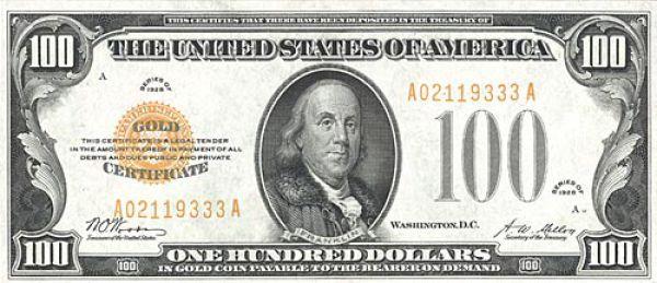 Uang Dollar 1928