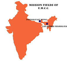 MISSION FIELDS OF EHCC IN NEPAL & MEGHALAYA