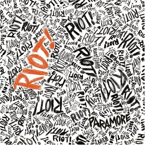 riot paramore album cover. ~love these cd covers~
