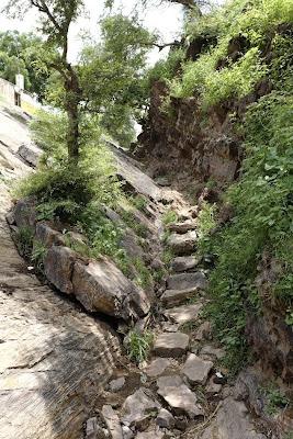 Sankari Kor Barsana Dham near where Swami Prakashanand Saraswati lives