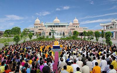 Shree Kripalu ji Maharaj at JKP Rangeeli Mahal