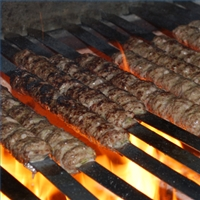 Grilled Ground Meat On Skewers With Middle Eastern Spices Recipes ...