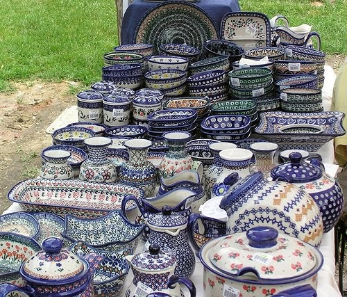 You paid more than me: Polish Pottery...Swoon.
