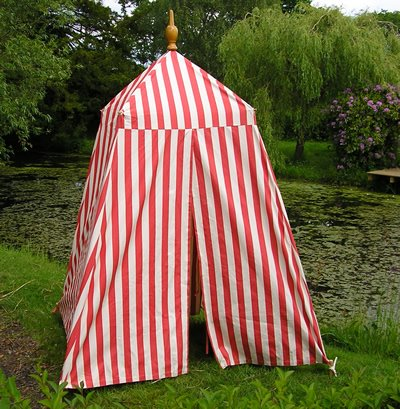 This is the  Football Empire Bathing Tent  from Deckchair Stripes. Love the name obvie. & Awning Stripes and Cabanas! | The Terrier and Lobster