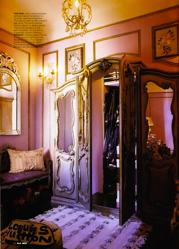 The terrier and lobster anna sui 39 s narnia inspired closet for Inspired closets