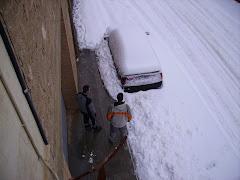 M´han enterrat el cotxe