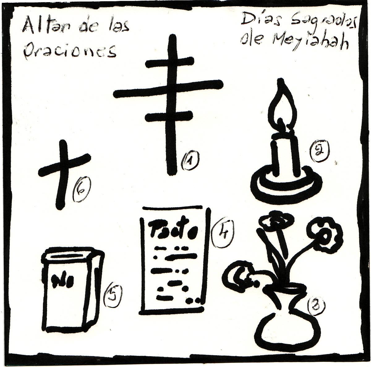 Pin Para Colorear Altar Con Calavera Del Dia De Los Muertos Dibujos on
