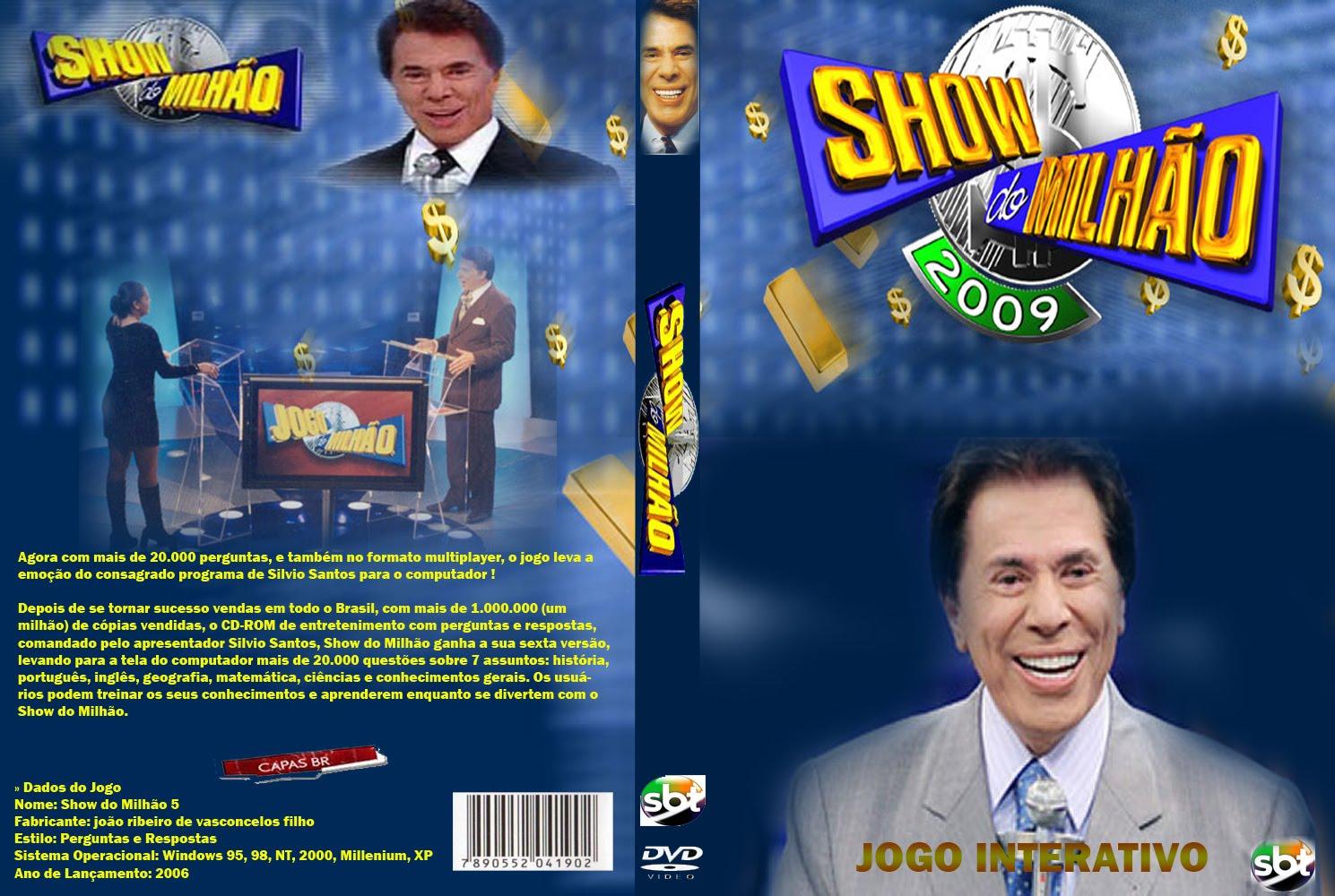 Show do Milhão Coleção Especial PC Show 2Bdo 2Bmilh 25C3 25A3o