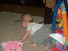 merricks learning to crawl