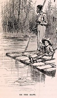 mark twains the adventures of huckleberry finn and its place in society today Free essay: the importance of friendship in mark twain's the adventures of huckleberry finn aristotle was once asked what he thought friendship was his.
