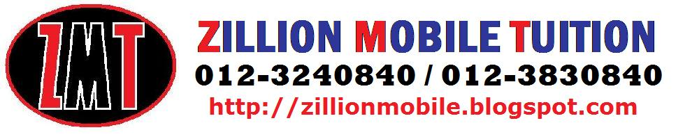 Zillion Mobile Tuition