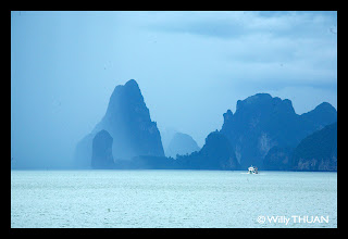 The bay of Phang Nga
