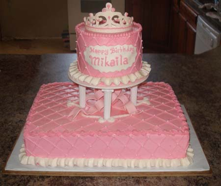 Cake Kiss Cakes Created By Alena Kissel Happy Pink Birthday