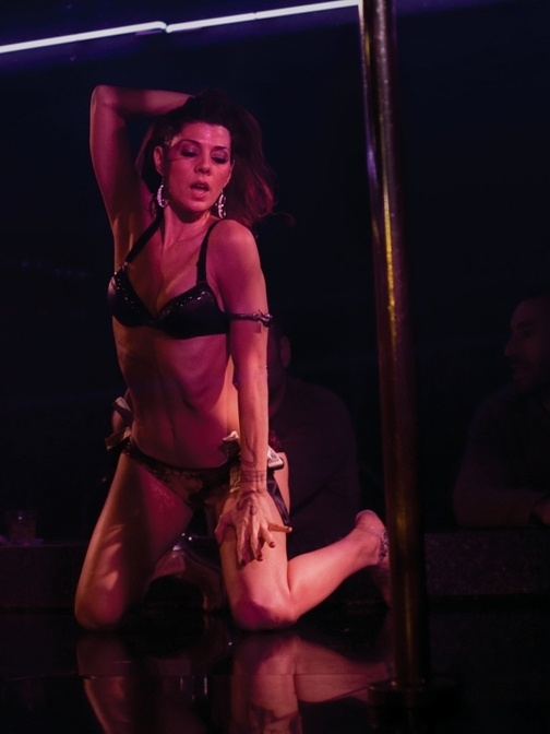 marisa tomei stripping the wrestler