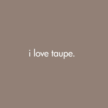 Hard to pin down for What does taupe mean
