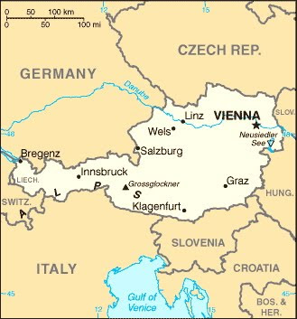 Slovenia Austria Germany In Days European Adventure - Germany map salzburg