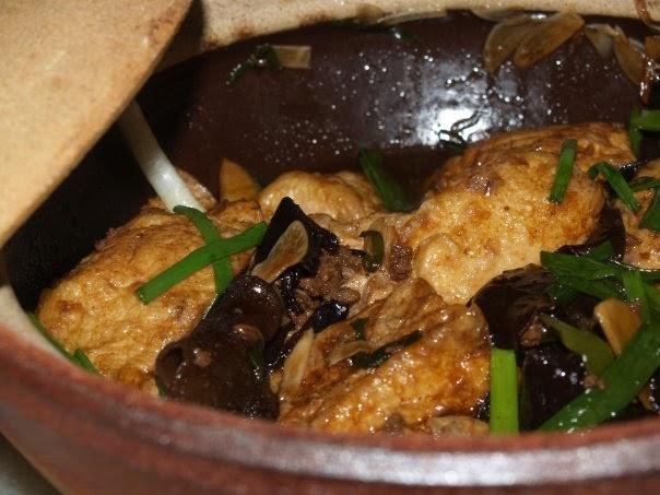 Selayang Pandang...: Braised Bean Curd