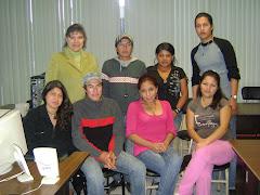 Estudiantes y Profesora