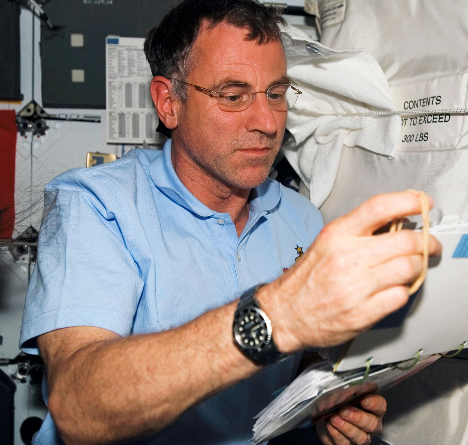 Dave Williams Astronaut Dave Williams is Pictured