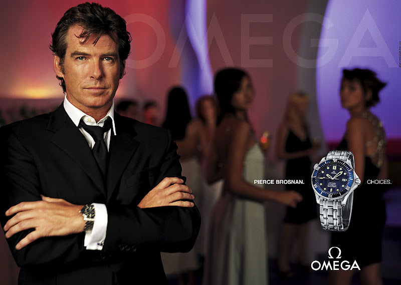 Image result for pierce brosnan omega