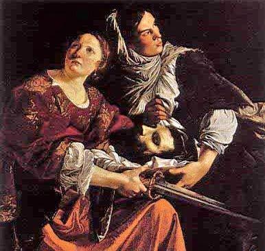 Artemisia Gentileschi, Judith and Holofernes (1611)
