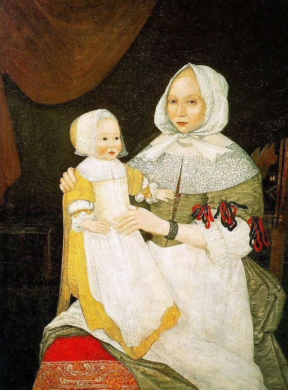 The Freake Limner (American Colonial Era Painter, active 1670 c 1680