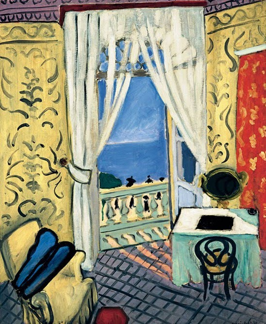 It 39 s about time interiors henri matisse 1869 1954 for Matisse fenetre