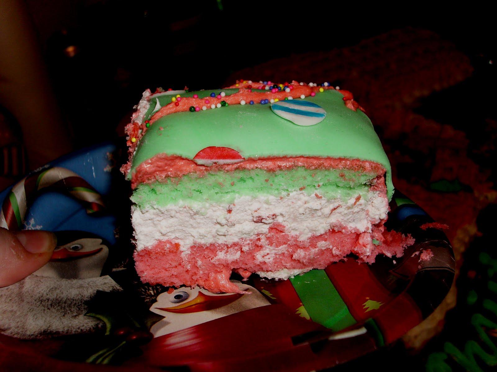 Ugly Sweater Fondant Cake
