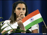Sania Mirza Indian Flag Controversy