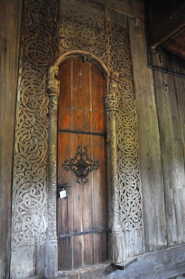 Semper: El estilo: Carpintería: la arquitectura normanda