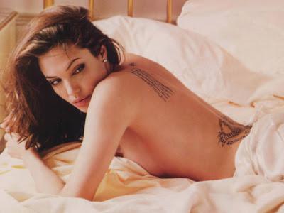 naked photographs of angelina jolie