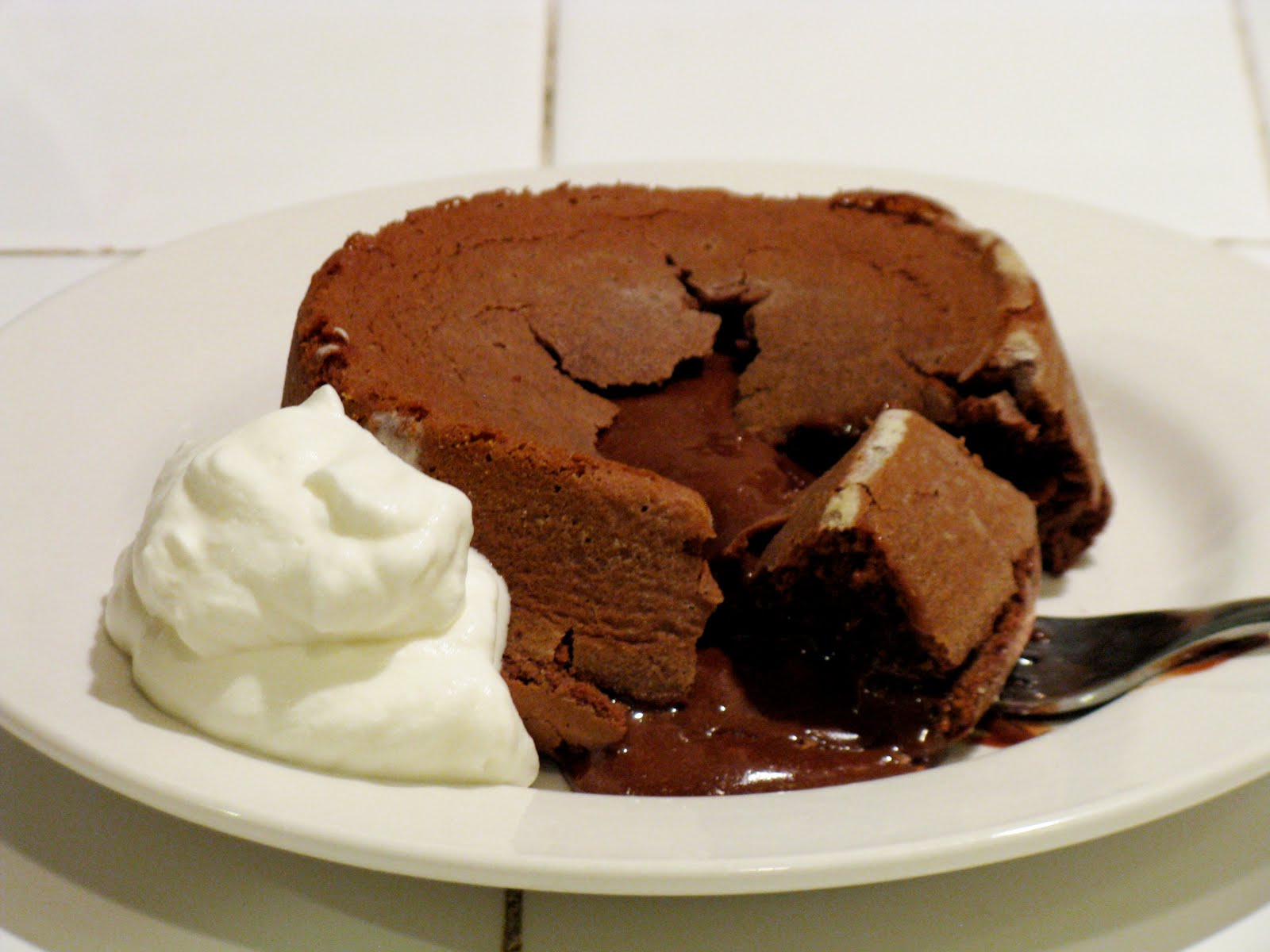 The Cilantropist: Molten Chocolate Lava Cake