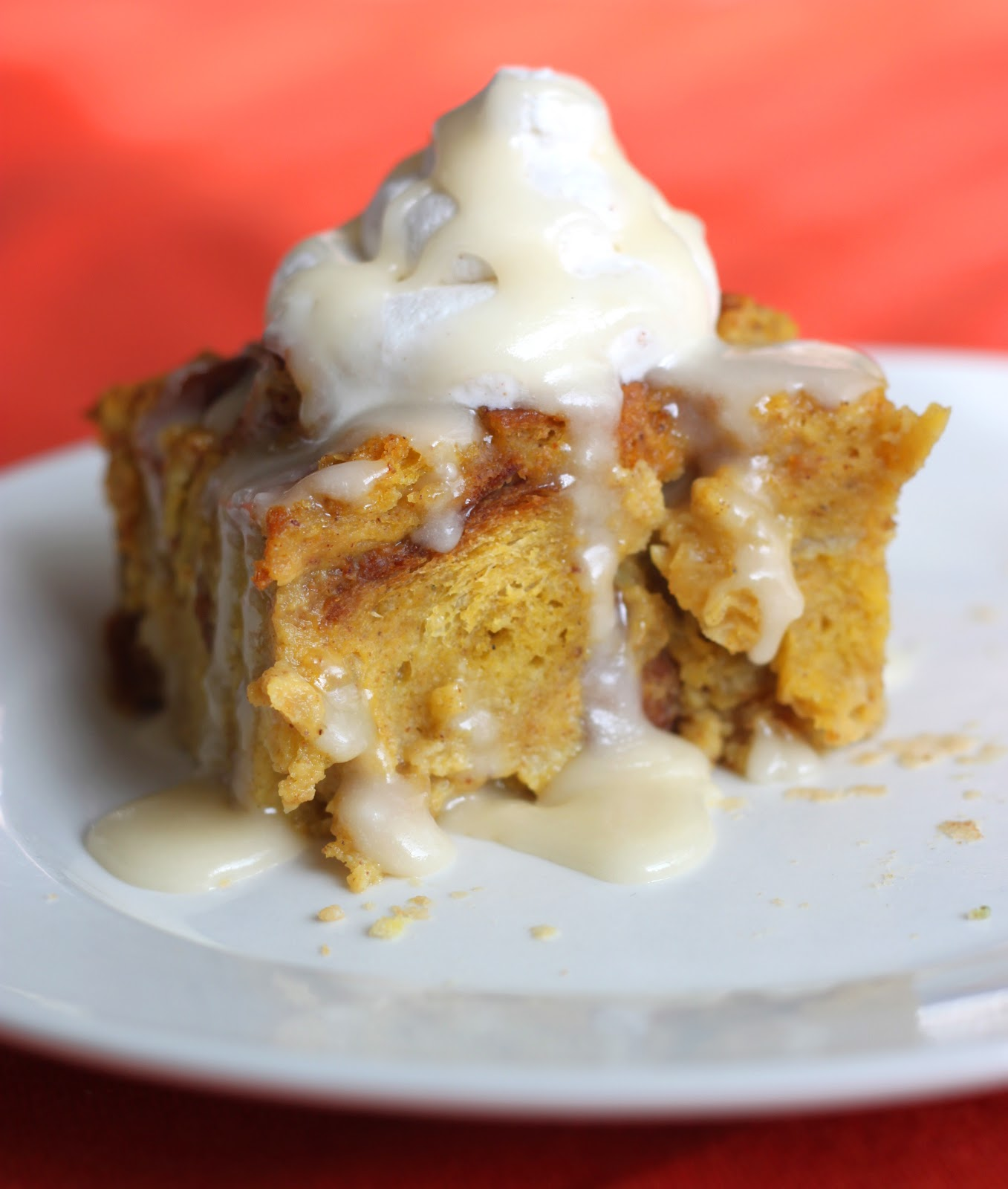 Pumpkin Raisin-Bread Pudding