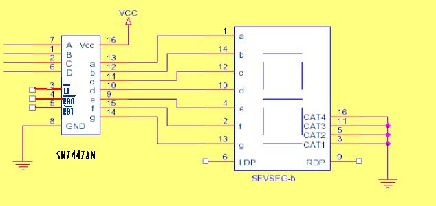 7 Segment Display Pin Diagram http://microcontroller51.blogspot.com/2010/08/seven-segment-display-used-in-automatic.html