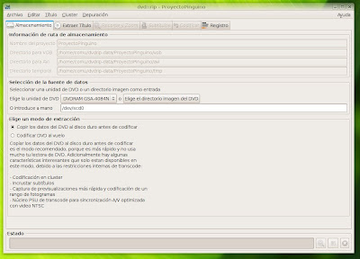 Ripear CD/DVD en linux