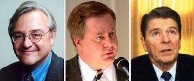 E.J. Dionne, Michael Lind, Ronald Reagan