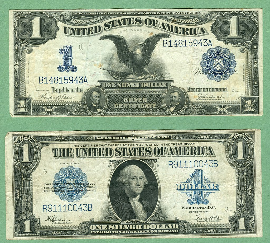 Lostbobs Blog Old Silver Certificates