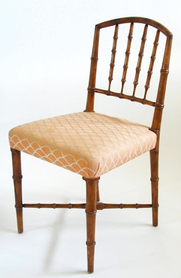 One Of My Long Distance Clients In North Carolina Is Selling This Set Of 4 Faux  Bamboo Dining Chairs If There Are Any Blog Readers Out There Who Are  Looking ...