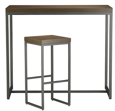 ... CB2 And Thought Iu0027d Post, Since So Many People Loved The Space Saving  Idea Of A High Bar Table For Eat In Kitchens (also Serves As Great Extra ...