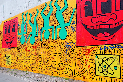 nyc nyc keith haring s houston and bowery mural