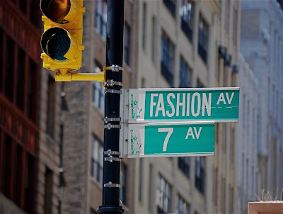 Avenue Fashions on Seventh Avenue Also Known As Fashion Avenue Between 39th And 40th