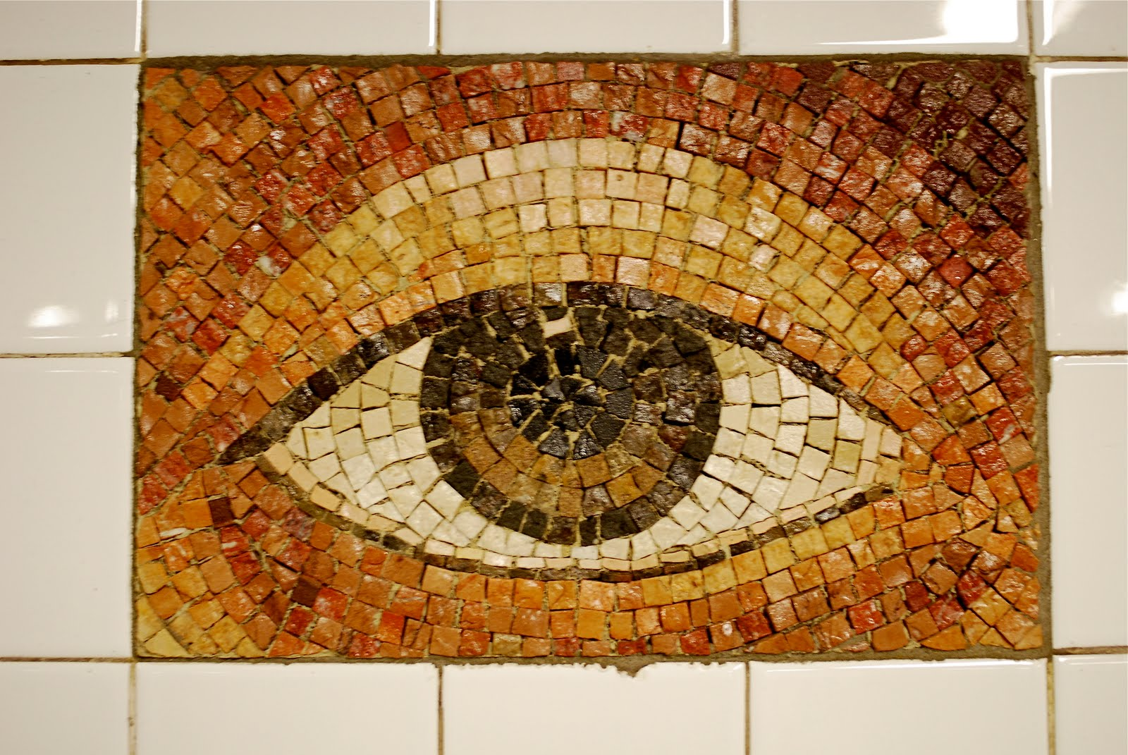 """... Artwork: """"Oculus,"""" Mosaic Eyes By Kristin Jones and Andrew Ginzel"""
